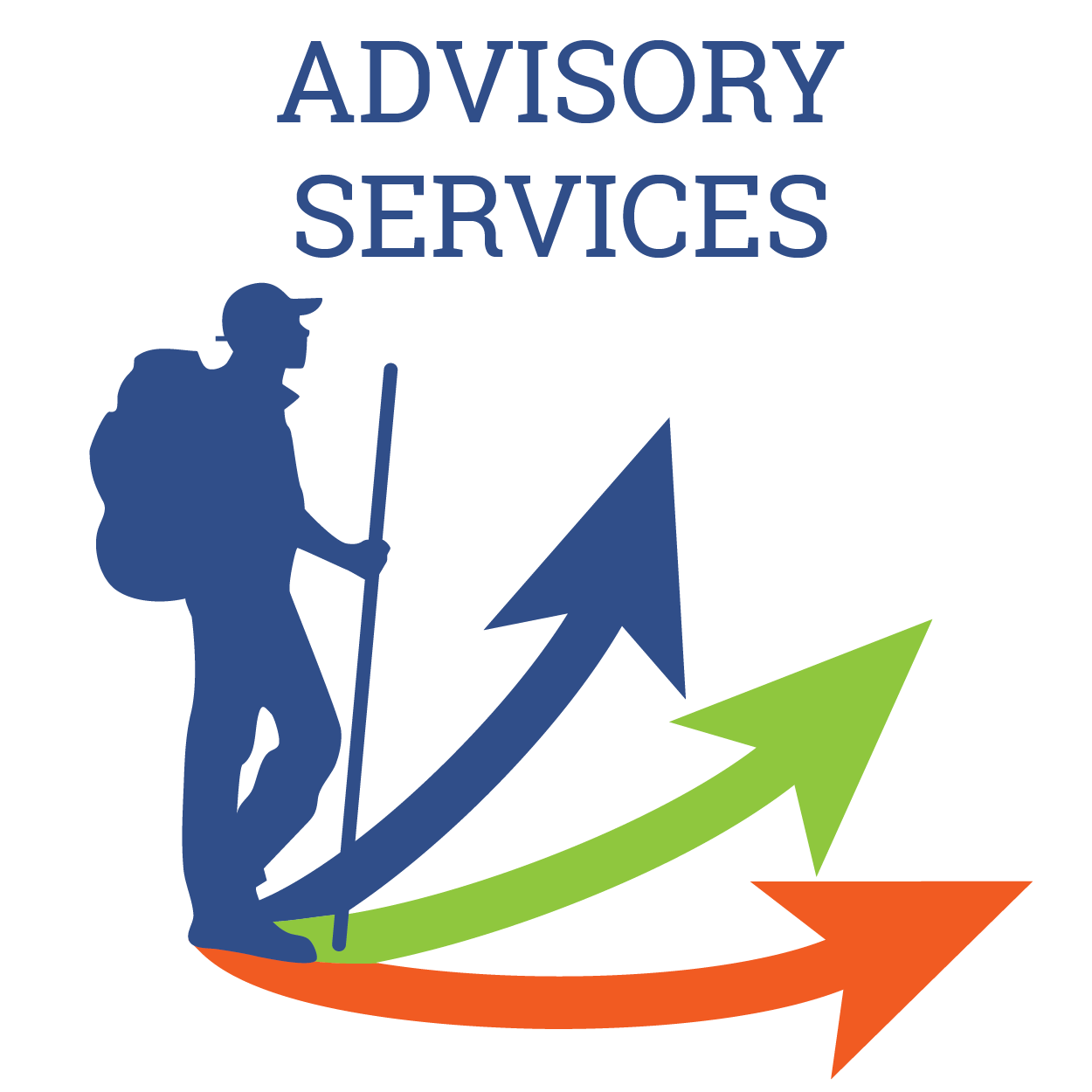 Advisory Services Trailhead Design Co Logo